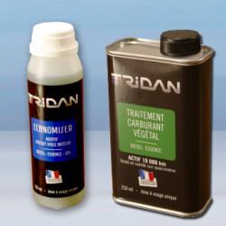 Pack Traitement Carburant Végétal 250ml + Economiser 125ml